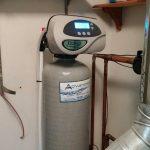 ES 1044 water softener installed in Howell, MI.